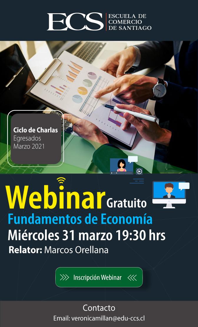 Escuela de Comercio - Webinar Fundamentos de Economía