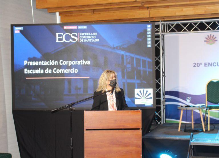 Escuela de Comercio auspició el 20°Encuentro Nacional de la Micro, Pequeña y Mediana Empresa de Chile.